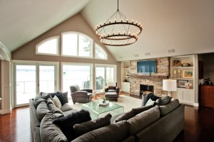 GREAT ROOM - WINDOW VIEW
