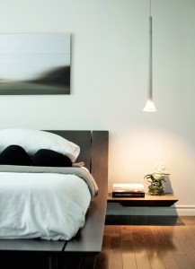 MASTER BEDROOM - BEDSIDE DETAIL