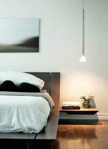 MASTER BEDROOM - BEDSIDE DETAIL