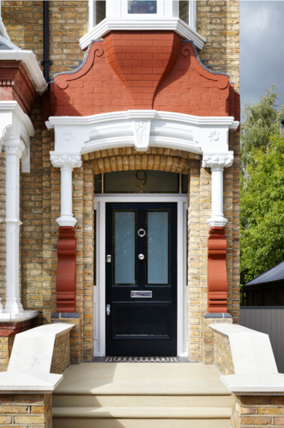 Source: http://www.houzz.com/photos/18982741/Kingston-upon-Thames-Surrey-victorian-entry-london