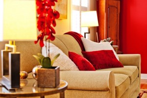 red-pillows
