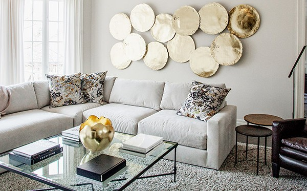 How to: Bring Metallics into your Home